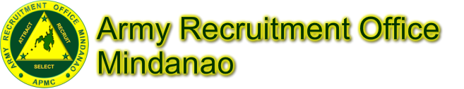 Philippine Army Recruitment for Mindanao